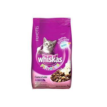 Ração p/ Gato Filhote Carne 1Kg - Whiskas