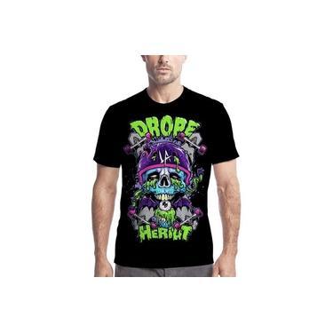 Camiseta Camisa Personalizada Grafite Arte Pichadores Skate