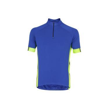 4351c2b614 Camisa de Ciclismo com Proteção Solar UV Barbedo Blue Night - Masculina -  AZUL Barbedo
