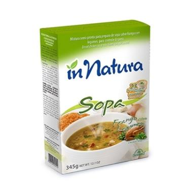 Sopa Detox Frango com Legumes - 01 X 345g