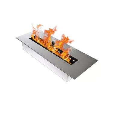 Lareira Ecológica Álcool E Etanol Completa C/queimador