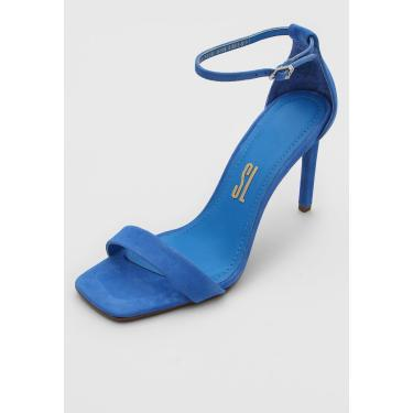 Sandália Santa Lolla Camurça Azul Santa Lolla 03EB.2B5B.0159.02B3 feminino