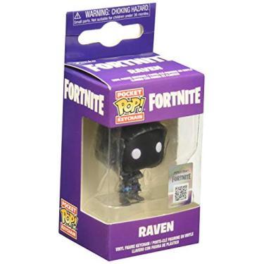 Fortnite Chaveiro Mini Boneco Pop Funko Raven Funko Multicolorido Pequeno