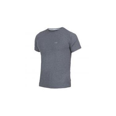 Imagem de Camiseta Manga Curta Mescla Masculino UV Dry Flex CINZA - M Mormaii