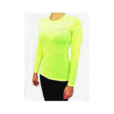 5a656a4b42 Camiseta Mormaii Feminina Manga Longa Body Fit Proteção UV S508UVBFF