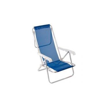 Cadeira Dobrável Reclinável 8 Posições - Mor