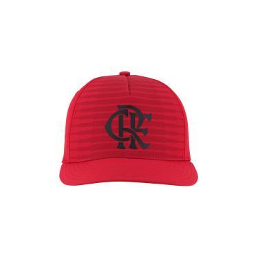 Boné Aba Curva do Flamengo CW adidas - Snapback - Adulto - VERMELHO adidas 6a2720649f9