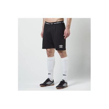 Calção Futebol Umbro Twr Play Preto Masculino