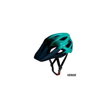 Imagem de Capacete Ciclismo Bike asw Accel Dots - Verde / Preto