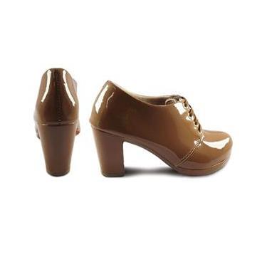 Sapato Oxford Feminino Tratorado