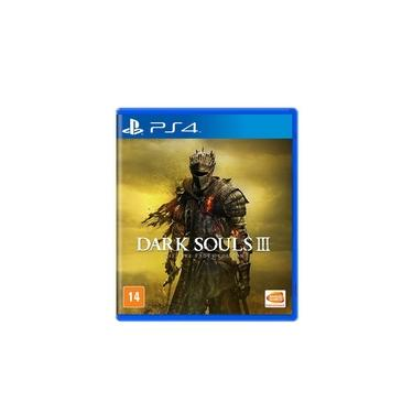Jogo Mídia Física Dark Souls 3 The Fire Fades Edition Ps4