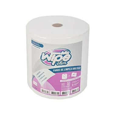 Pano Multiuso Branco 28cmx50cmx300M Rolo Com 600 Panos Mr Wipe