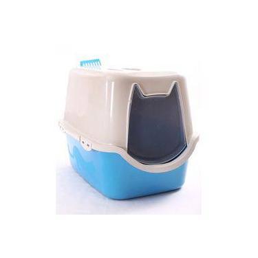 Banheiro Para Gato Toalete Sanitário Wc Duracats Cor Azul