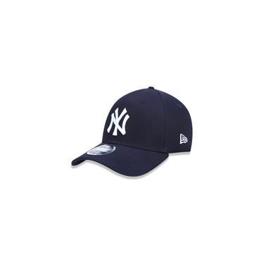 Boné New Era Aba Curva Mlb Ny Yankees Classic Azul