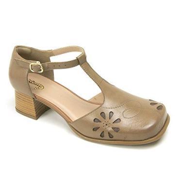 Sapato Feminino Boneca Salto Baixo Miuzzi