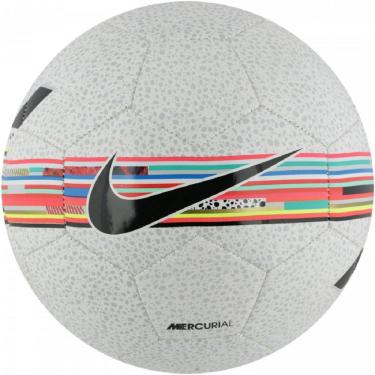Mini Bola Nike Cr7 Skills SC3897-100, Cor: Branco/Preto, Tamanho: U