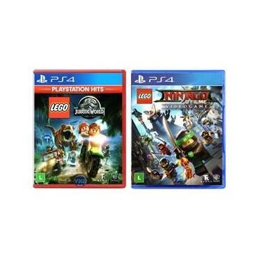 LEGO Jurassic World + LEGO Ninjago - O Filme: Video Game - PS4