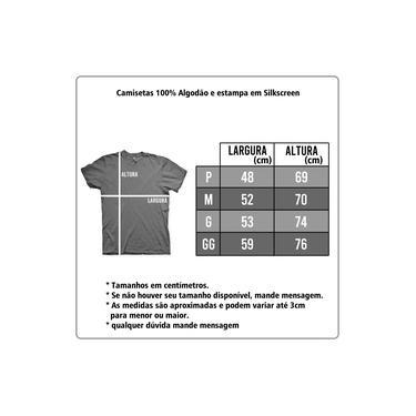 Camiseta Gatinho Caveira Chumbo e Cinza em Silk 100% Algodão