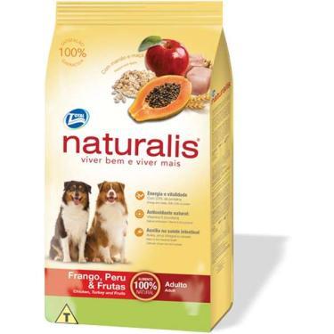 Ração Total Naturalis Frango, Peru e Frutas para Cães Adultos - 15 Kg