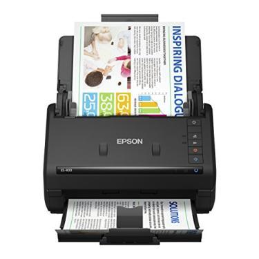 Scanner Epson WorkForce ES-400 - Documentos, Duplex, ADF, OCR, TWAIN, Bivolt