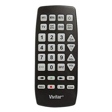 Controle remoto universal gigante para até 4 aparelhos - VIVITAR
