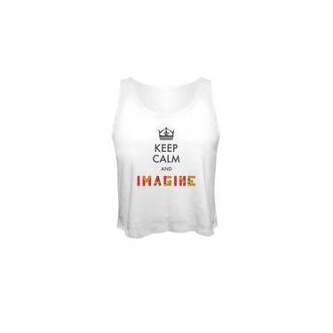 Camiseta Cropped Imagine