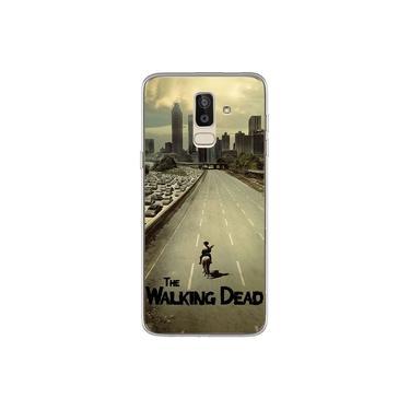 Capa para Galaxy J8 - The Walking Dead   Atlanta