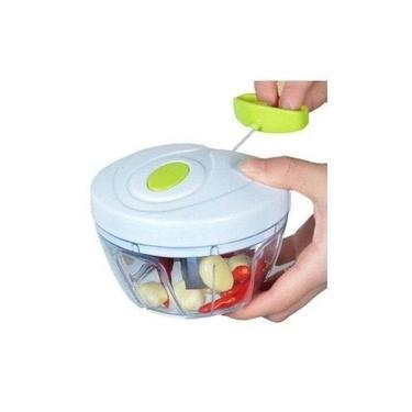 Imagem de Mini Processador De Alimentos Manual Triturador Alho Legumes