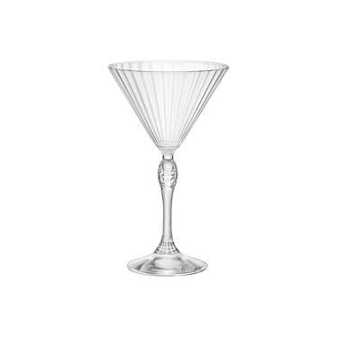 Taça De Cristal Para Martini 245ml - America'20s Bormioli Rocco - Fabricada na Itália