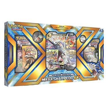 Imagem de Box de Cartas Pokémon Premium - Mega Sharpedo-EX - Copag