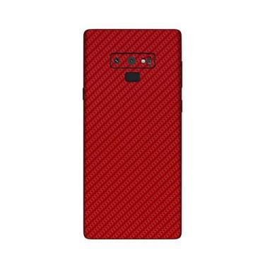 Capa Adesivo Fibra Carbono Vermelho Samsung Galaxy Note 9