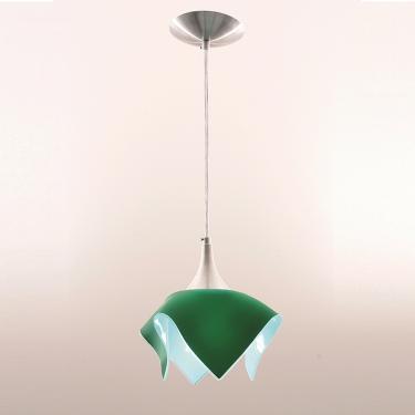 Pendente Color Verde para 1 Lâmpada