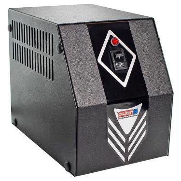 Protetor Eletrônico 1200W 2KVA Bivolt E127/220V S115V 4 Tomadas 10A Gabinete Metálico F60010 Emplac