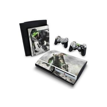 Skin Adesivo para PS3 Fat - Splinter Cell Blacklist