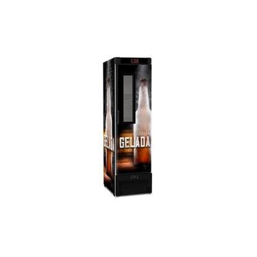 Visa Cooler Cervejeira Expositor Vertical Porta Com Visor 287 Litros Vn28fe New - Metalfrio 220v