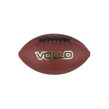 Bola de Futebol Americano Vollo Oficial 9 - MARROM Vollo 924f5e3b211a8