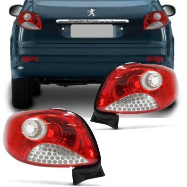 Lanterna Traseira Peugeot 207 Sedan 2011 2012 2013 2014 Lado Esquerdo Motorista