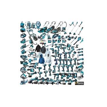 Tupia Manual Laminados 530w Makita 3709 Kit Completo Frete