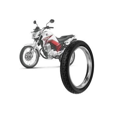Pneu Moto Honda CG Titan Rinaldi Aro 18 90/90-18 57p Traseiro BS32 800050002