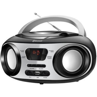 Rádio Portátil Mondial CD Player MP3 - Display Digital BX-21