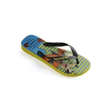 Sandalia Chinelo Disney Stylish - Havaianas - Amarelo Neon