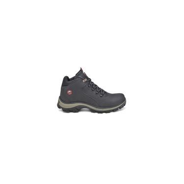 Imagem de Bota Coturno Masculino de Couro West Boots Premium Cor Preto - dev