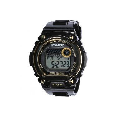 0b42548d956 Relógio Analógico Speedo 81133L0 - Feminino - PRETO OURO Speedo