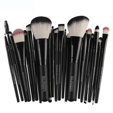 Kit De Pincel Maquiagem Profissional 22 peças MAANGE835