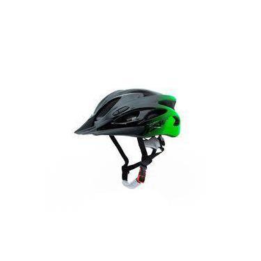 Capacete Para Ciclismo Tsw Raptor Com Led Traseiro Mtb Bike Tamanho Médio 54/58 Cm Com Regulagem