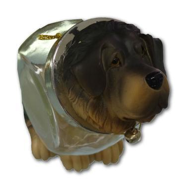 Mini Baleiro Cachorro São Bernardo