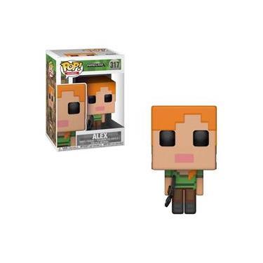 Boneco Alex 317 Minecraft - Funko Pop!
