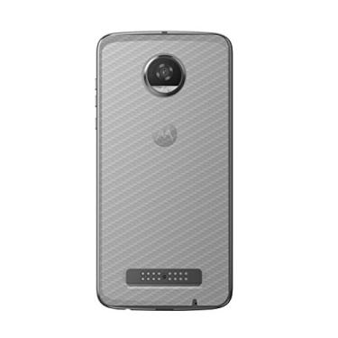 Película Traseira de Fibra de Carbono Transparente para Motorola Moto Z2 Play - Gshield
