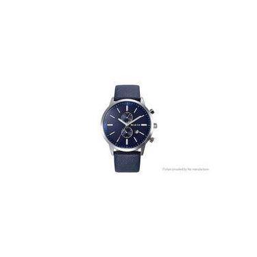 32798356991 Relógio North Modelo 6008 De Luxo Pulseira Couro