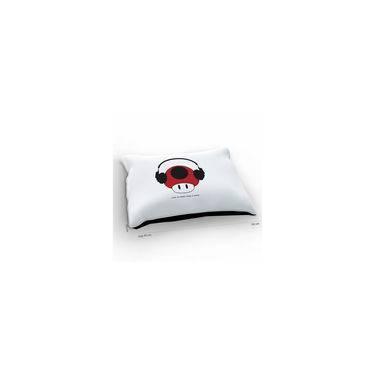Colchão Para Pet Super Mario Toad Fone Branco
